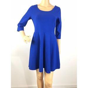 Express Blue Skate Dress Size Medium